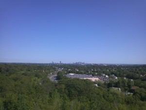 Boston from the top of the Quarry